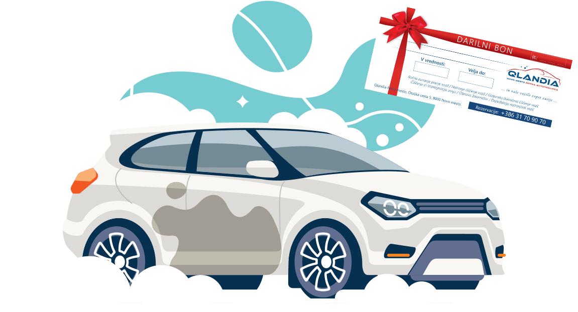 darilni bon pranje avtomobila